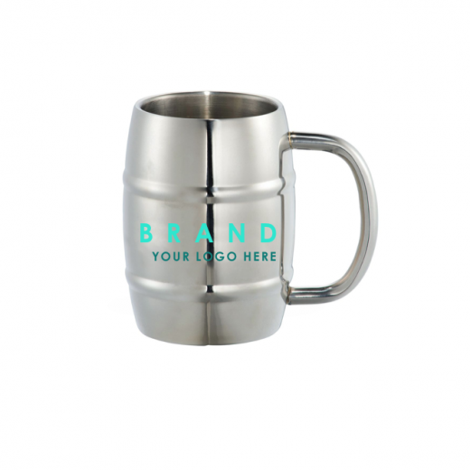 Stainless Steel Mugs with logo