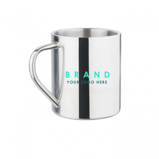 Metal Mugs with logo