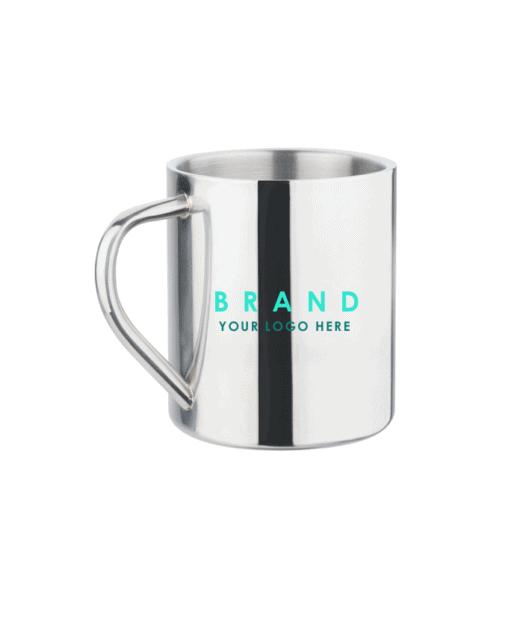 Metal Mugs with logo
