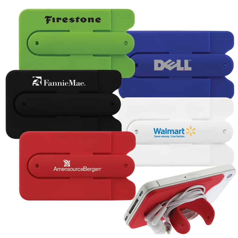huge selection of ee808 0fa8a Kickstand Silicone Smart Phone Wallet – Publicity Promotional Products