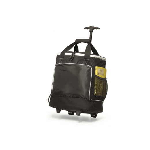 insulated cooler bag with wheels