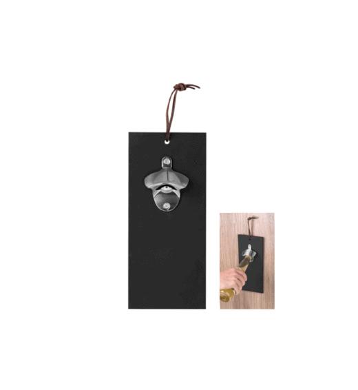 black board bottle opener