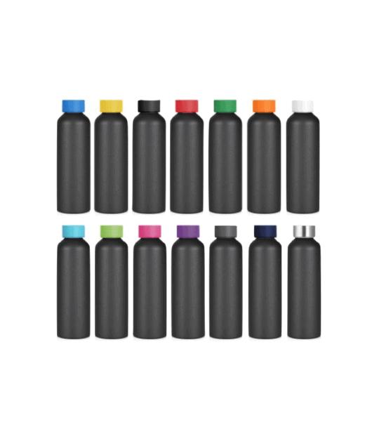 metal drink bottle with logo