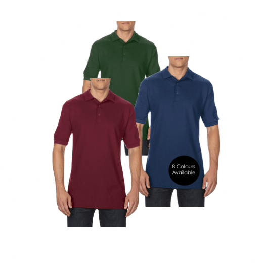 Embroidered Polo Shirts with custom logo