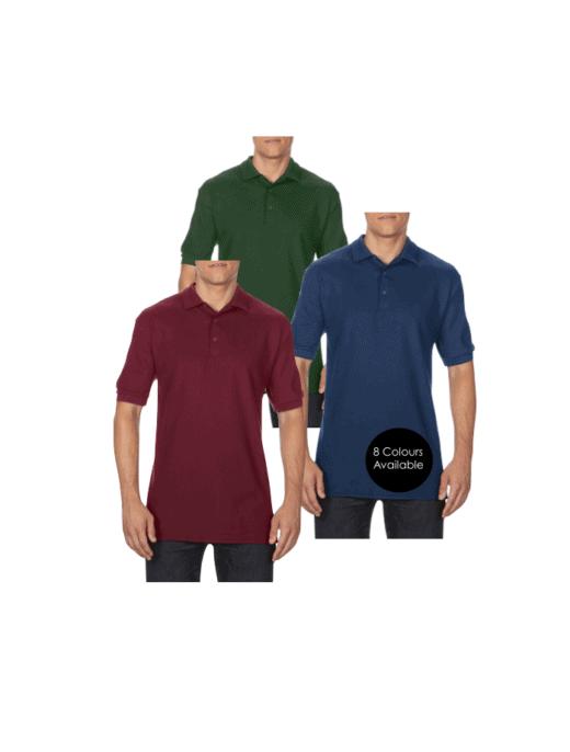 Embroidered Polo Shirts with custom logo