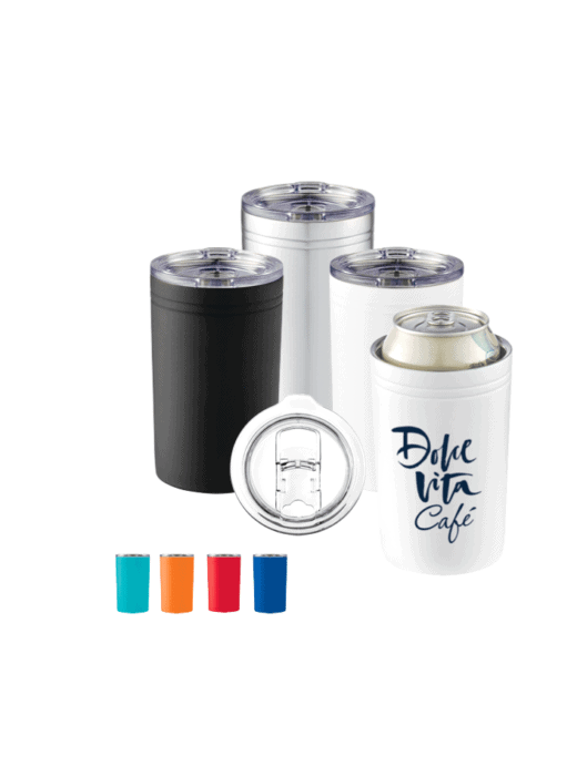 travel mugs and can holders