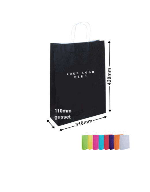 Paper Bags with corporate Printing